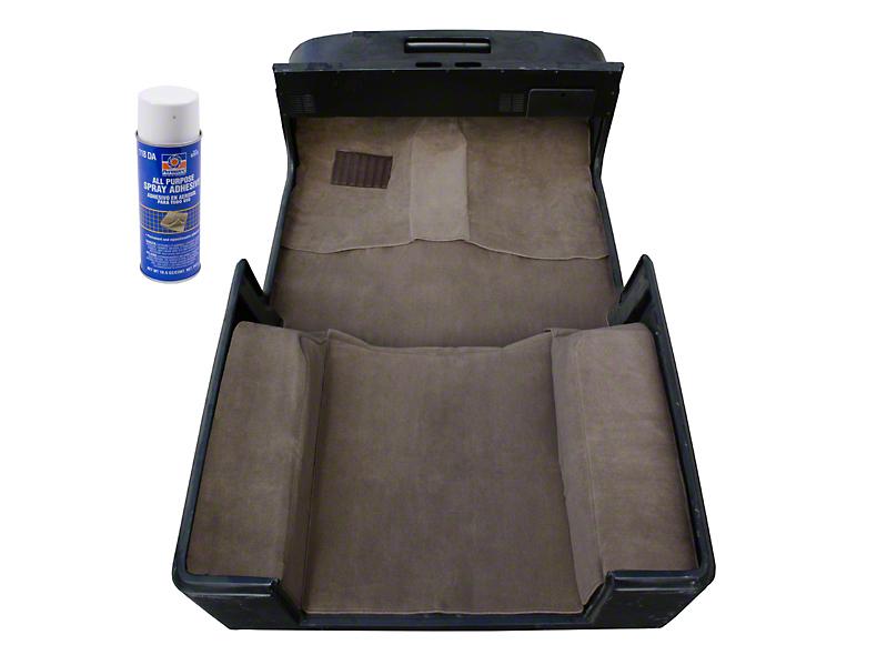 Rugged Ridge Deluxe Carpet Kit w/ Adhesive - Honey (97-06 Jeep Wrangler TJ)