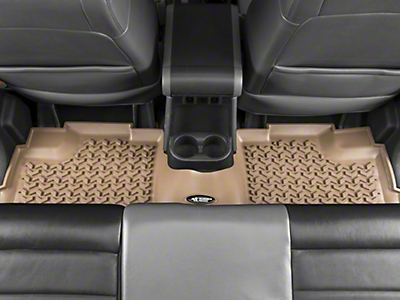 Rugged Ridge All Terrain Rear Floor Liner - Tan (07-18 Wrangler JK 4 Door)
