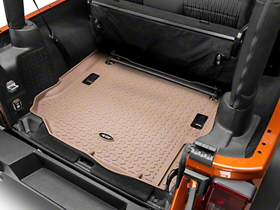 Rugged Ridge Cargo Liner - Tan (11-17 Wrangler JK)