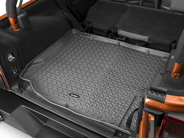 Rugged Ridge Cargo Liner - Gray (07-10 Jeep Wrangler JK)