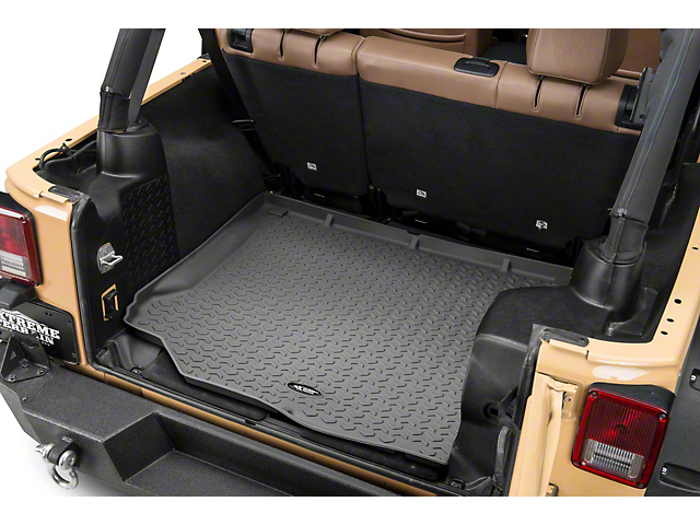 Rugged Ridge All-Terrain Cargo Liner; Gray (11-18 Jeep Wrangler JK)