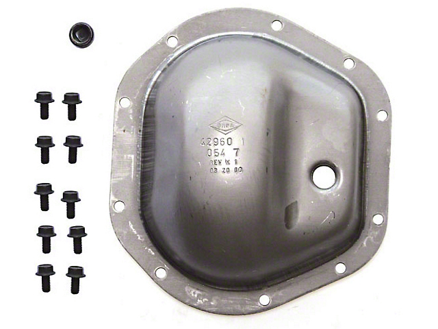 Omix-ADA Dana 44 Diff Cover Kit (87-18 Jeep Wrangler YJ, TJ & JK)