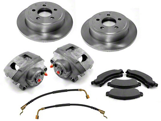 Omix-ADA Front Premium Disc Brake Service Kit (00-06 Wrangler TJ)