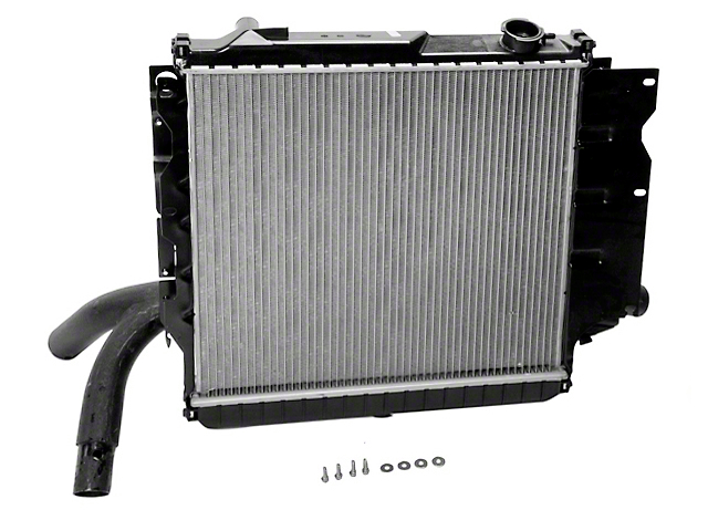 Radiator; 1-Row (97-06 2.5L or 4.0L Jeep Wrangler TJ)