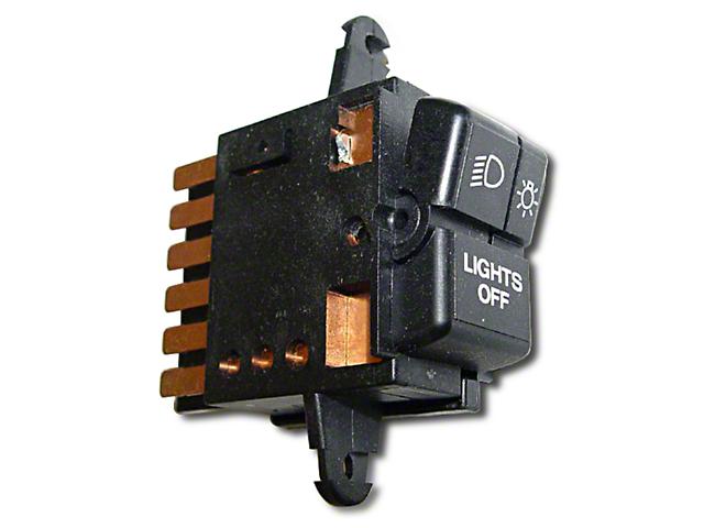 Headlight Switch (87-95 Jeep Wrangler YJ)