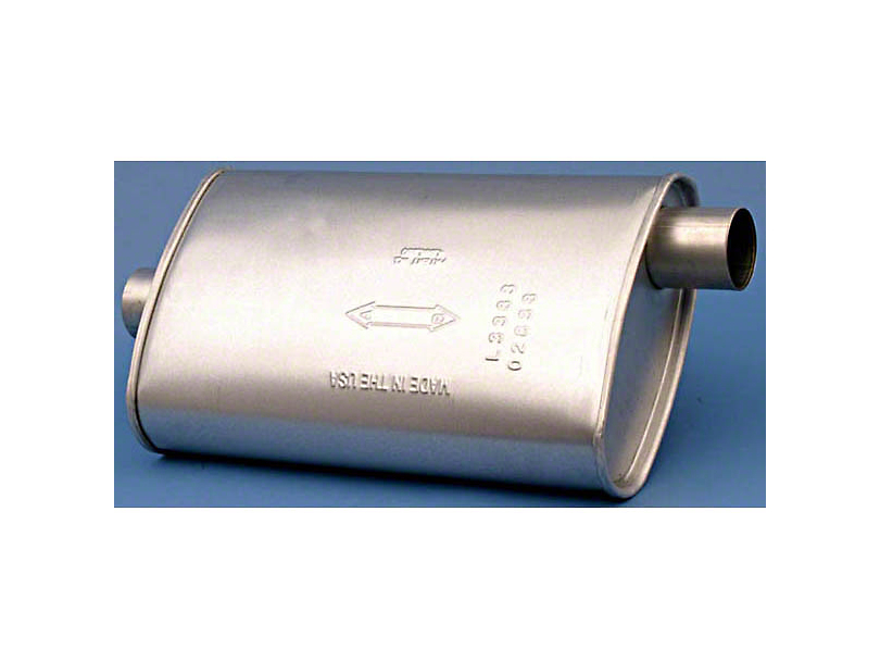 Exhaust Muffler (87-92 2.5L or 4.0L Jeep Wrangler YJ)