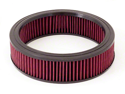 Rugged Ridge Reusable Round Synthetic Air Filter (87-91 Jeep Wrangler YJ)