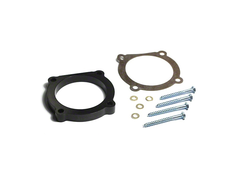 Rugged Ridge Throttle Body Spacer (12-18 3.6L Jeep Wrangler JK; 2018 3.6L Jeep Wrangler JL)