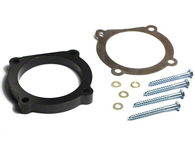 Rugged Ridge Throttle Body Spacer (12-18 3.6L Wrangler JK; 2018 3.6L Wrangler JL)