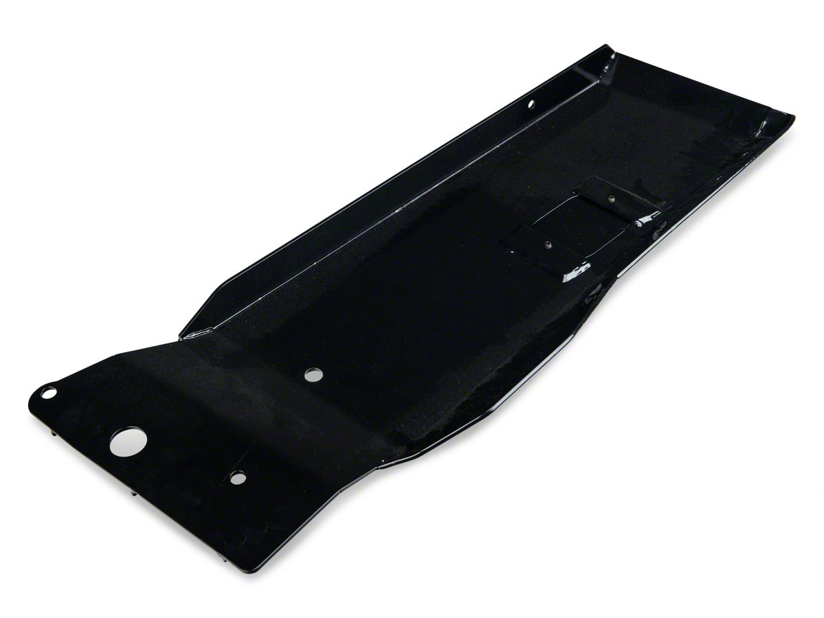 Black Evaporator Skid Plate for Jeep Wrangler JK 2012-2018 18003.42 Rugged Ridge