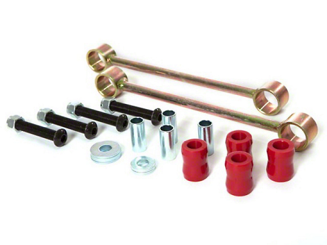 Rugged Ridge Rear Sway Bar End Links for 2.50-Inch Lift (07-18 Jeep Wrangler JK)