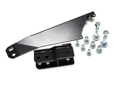 Rugged Ridge Rear Track Bar Relocation Bracket for 2-4 in. Lift (07-18 Jeep Wrangler JK)