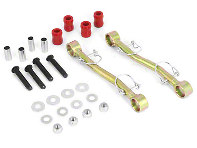 Rugged Ridge Front Sway Bar End Links for 4-5 in. Lift (07-18 Jeep Wrangler JK)