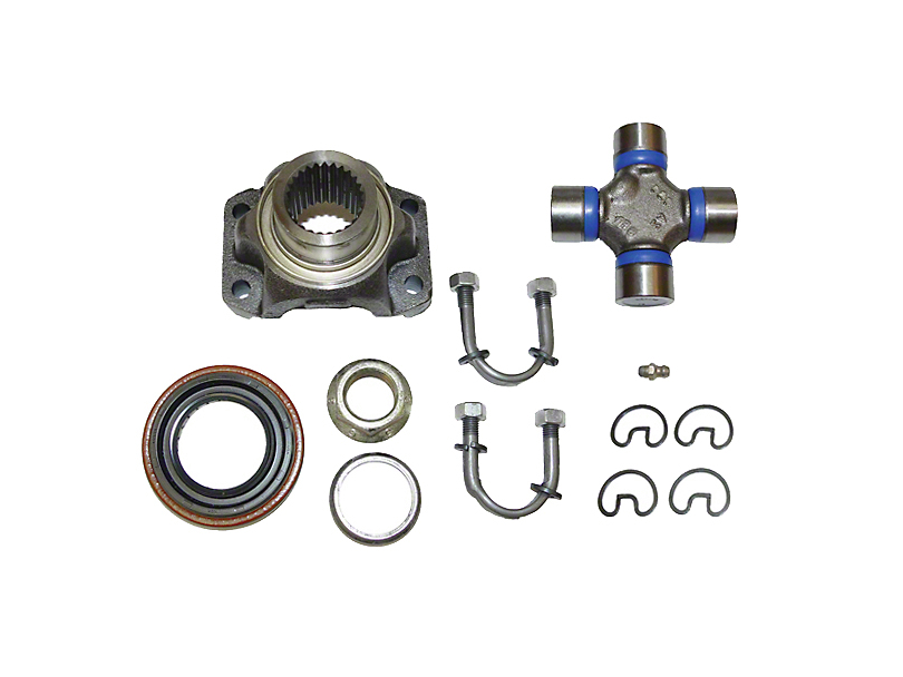 Alloy USA Yoke Conversion Kit for Dana 30 (87-06 Jeep Wrangler YJ & TJ)