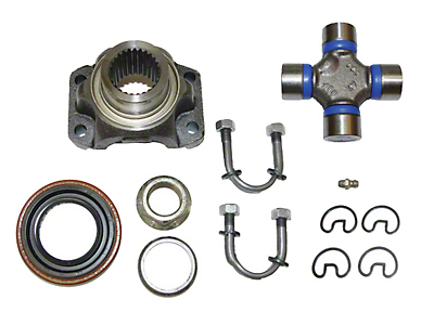 Alloy USA Yoke Conversion Kit for Dana 30 (87-06 Wrangler YJ & TJ)