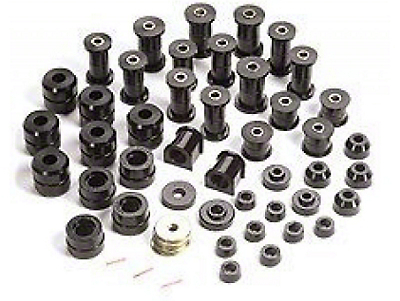 Rugged Ridge Polyurethane Bushing Kit - Black (87-95 Jeep Wrangler YJ)