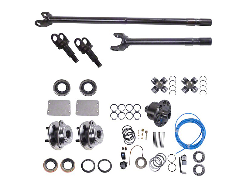 Alloy USA Front Grande 30 Axle Shaft Kit w/ ARB Locker (87-95 Jeep Wrangler YJ)