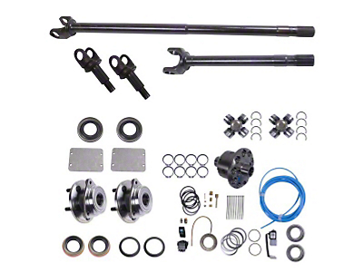 Alloy USA Front Grande 30 Axle Shaft Kit w/ ARB Locker (87-95 Wrangler YJ)