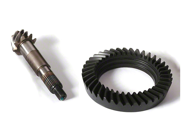 Alloy USA Dana 30 Rear Axle Ring Gear and Pinion Kit - 3.73 Reverse Gears (87-95 Jeep Wrangler YJ)