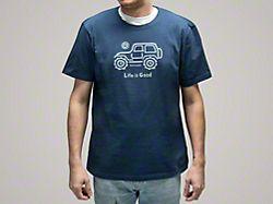 Life is Good Men's Native Off-Road T-Shirt - XL