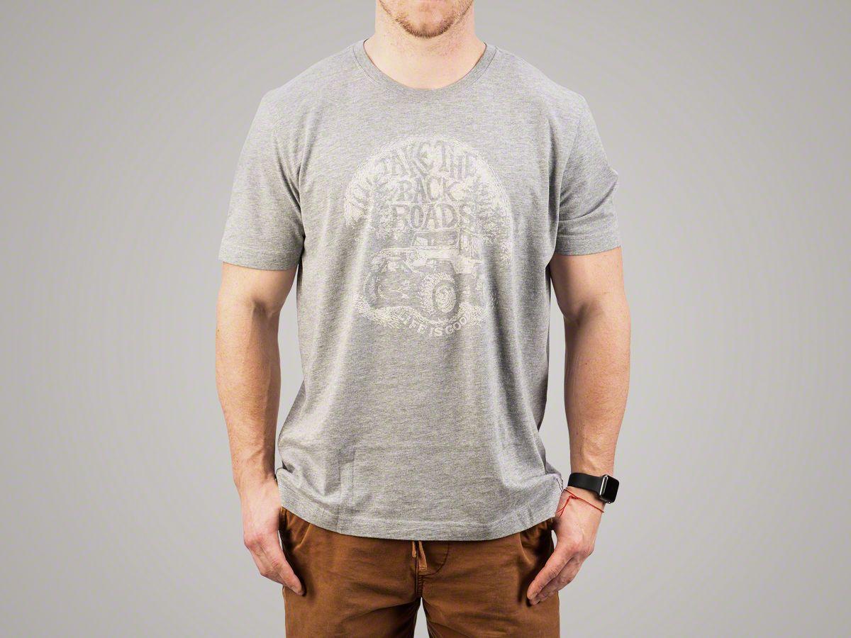 Life is Good Men's Take The Back Roads Crusher T-Shirt