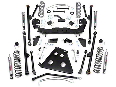 Rough Country 4 in. X-Series Long Arm Suspsension Lift Kit w/ Shocks (07-18 Wrangler JK 2 Door)