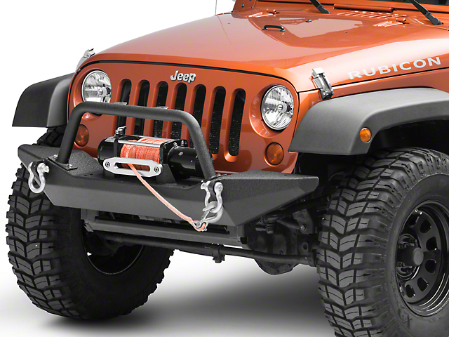 Body Armor 4x4 Front Bumper (07-18 Jeep Wrangler JK)