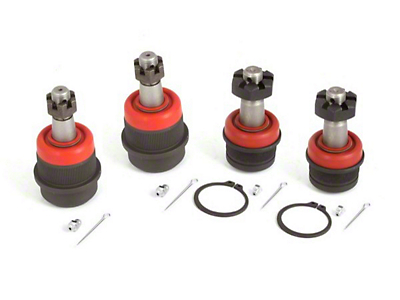 Alloy USA 4-piece Ball Joint Kit (87-06 Jeep Wrangler YJ & TJ)