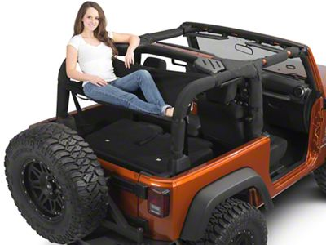 Jammock Jeep Wrangler 2 0 Jeep Hammock Black