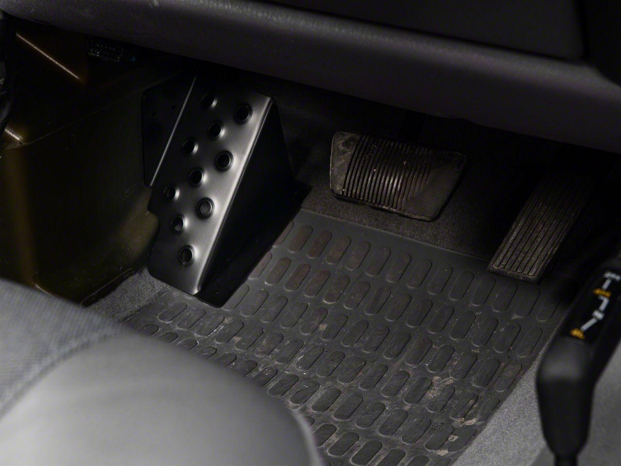 M.O.R.E. Dead Pedal - Driver Side (97-06 Jeep Wrangler TJ)