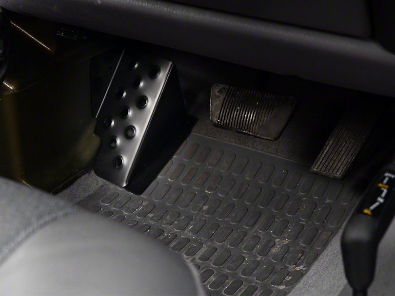 M O R E Jeep Wrangler Dead Pedal Drivers Side Dp9706ds