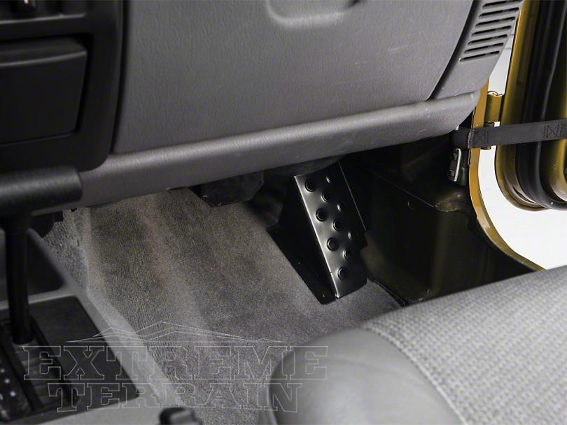 M.O.R.E. Dead Pedal - Passenger Side (97-06 Jeep Wrangler TJ)