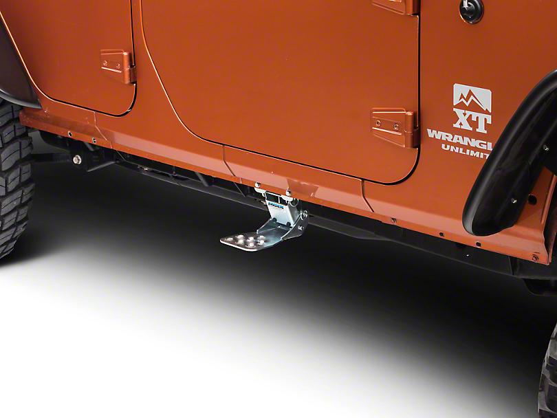 M.O.R.E. Hide-A-Step (07-18 Jeep Wrangler JK)