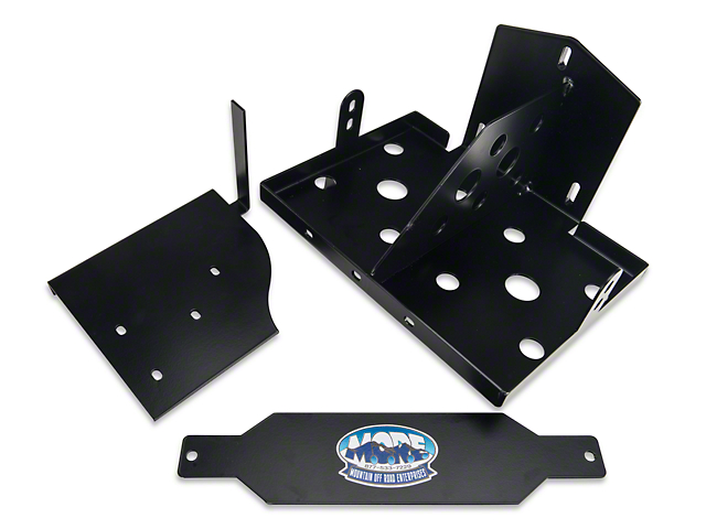 M.O.R.E. Dual Battery Tray (07-11 Jeep Wrangler JK)