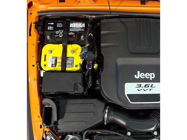 M.O.R.E. Dual Battery Tray (12-18 Jeep Wrangler JK)