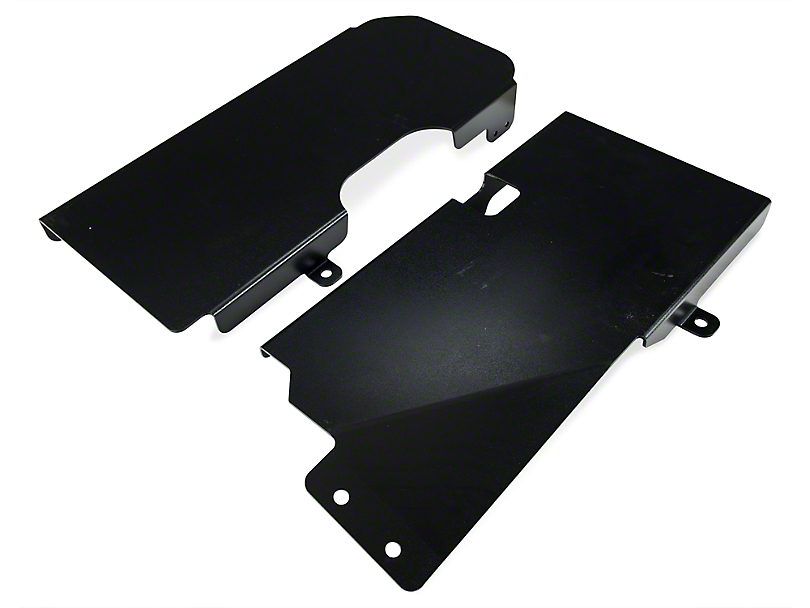 Rough Country Gas Tank Skid Plate (07-18 Jeep Wrangler JK 4 Door)