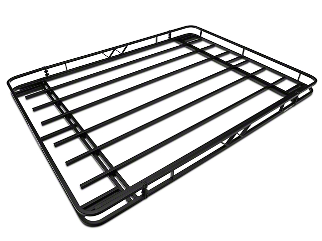 Garvin Expedition Rack w/ Basket (07-18 Jeep Wrangler JK 2 Door)