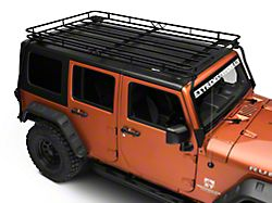 Garvin Expedition Rack with Basket (07-18 Jeep Wrangler JK 4 Door)