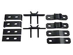 Garvin Combo Ax & Shovel Mount for 4 in. High Roof Rack (07-18 Jeep Wrangler JK)