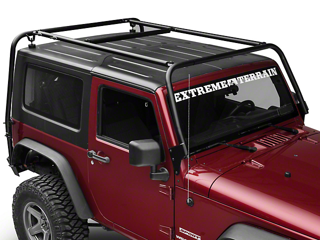 Garvin Adventure Rack (07-18 Jeep Wrangler JK 2 Door)
