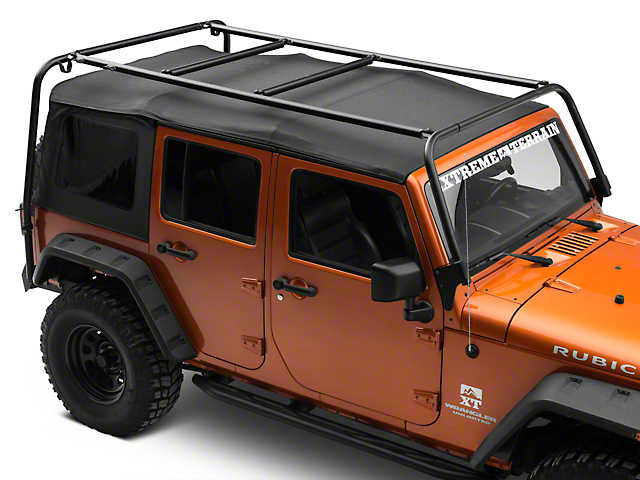 Garvin Adventure Rack (07-18 Jeep Wrangler JK 4 Door)
