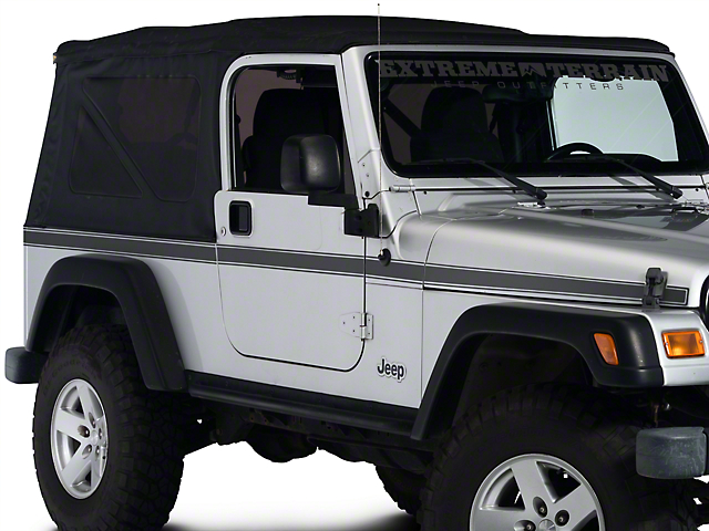 Side Stripe - Matte Black (97-06 Jeep Wrangler TJ)