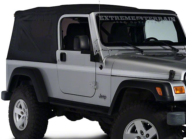 Side Stripe - Silver (97-06 Jeep Wrangler TJ)