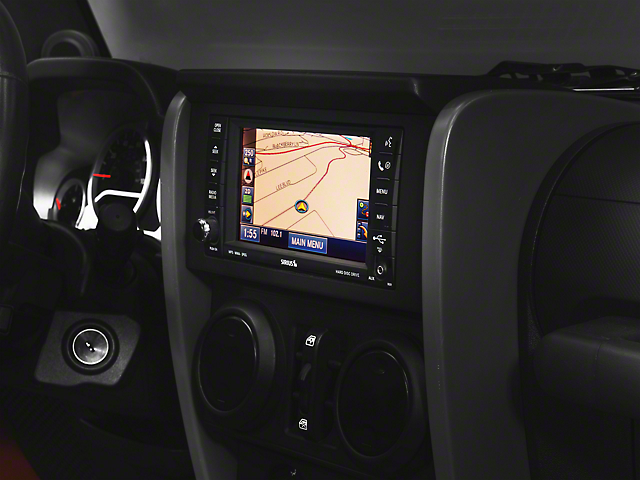 Stereo/GPS Protection Film (07-18 Jeep Wrangler JK)