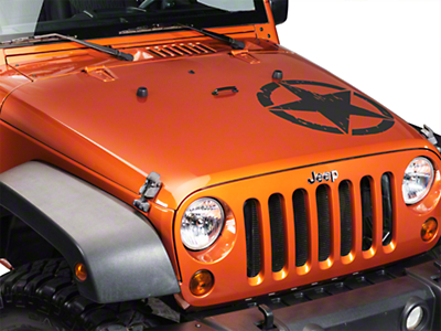 XT Graphics On The Move Star Kit - Matte Black (87-18 Wrangler YJ, TJ, JK & JL)