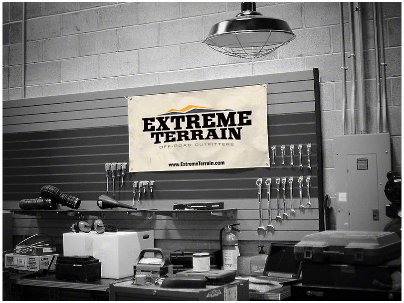 ExtremeTerrain Garage Banner