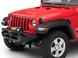 Addictive Desert Designs Stealth Fighter Top Hoop Front Bumper w/ Winch Mount (18-19 Jeep Wrangler JL)
