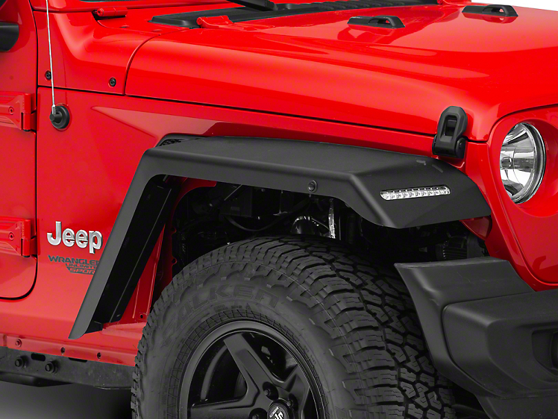 Rock-Slide Engineering Fender Flares (18-19 Jeep Wrangler JL)