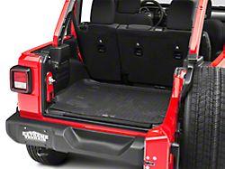Husky WeatherBeater Cargo Liner - Black (18-19 Jeep Wrangler JL 4 Door w/ Subwoofer)