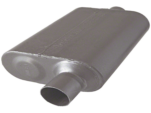Flowmaster Original 40 Series 2.25 in. Muffler - Stainless Steel (97-06 Wrangler TJ)